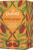 Pukka Three Ginger Eko 20 tepåsar