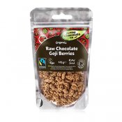 Raw Chocolate Goji Berries 125g EKO