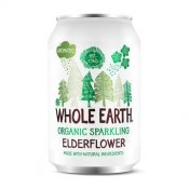 Whole Earth Sparkling Elderflower Eko 33cl