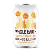 Whole Earth Sparkling Orange & Lemon Juice EKO 33cl