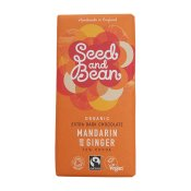 Seed & Bean Mandarin and Ginger Dark Chocolate EKO 85 g