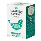 Higher Living Organic Peppermint & Licorice 15p