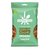 Superfruit Kokoschips Karamel 50g EKO