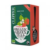 Clipper Green Strawberry 20p EKO
