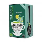 Clipper Green Tea Citrus Aloe Vera 20 tepåsar