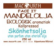 Macurth Mandelolja Eko 250ml