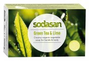 Sodasan Tvål Green Tea & Lime EKO 100 g