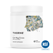 Thorne Research Cal-Mag Citrate Powder 214 g