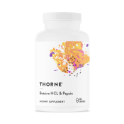 Thorne Research Betaine HCL & Pepsin 450 kapslar
