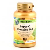 Great Earth Super C Complex 500mg Regular 120t