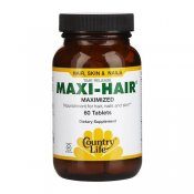Country Life Maxi-Hair Maximized 60 Tabletter