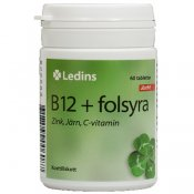 Ledins B12 plus folsyra 60 tabletter
