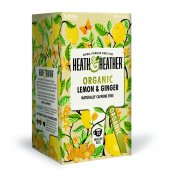 Heath & Heather Lemon & Ginger Eko 20p