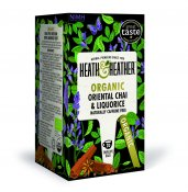 Heath & Heather Oriental Chai & Liquorice Eko 20p