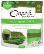 Organic Traditions Smoothiemix Greens EKO 150 g
