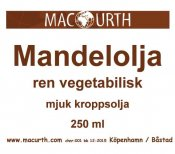 Macurth Mandelolja 250 ml