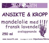 Macurth Mandelolja Lavendel 250 ml