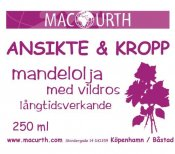 MacUrth Mandelolja Vildros 250 ml