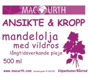 MacUrth Mandelolja Vildros 500 ml