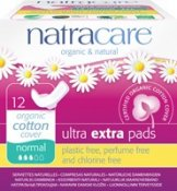 Natracare Binda Ultra Extra Normal Vingar Eko 12 st