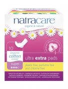 Natracare Binda Ultra extra super vingar 10 st