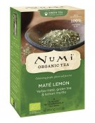 Numi Green Tea Mate Lemon EKO 18 tepåsar