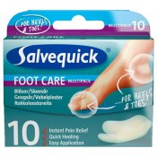 Salvequick Foot Care Skavsår Mix 10 st