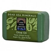 One With Nature Dead Sea Minerals Olive Oil Soap 200 g