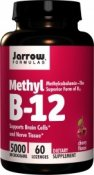 Jarrow Methyl B-12 5000 mcg 60 tuggtabletter