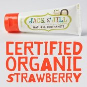 Jack N' Jill Natural Calendula Toothpaste Strawberry Flavour 50 g