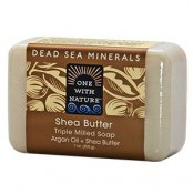 One With Nature Dead Sea Minerals Shea Butter Soap 200 g