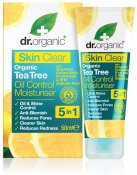 Dr.Organic Skin Clear Tea Tree Oil Control Moisturiser 50 ml
