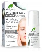 Dr.Organic Pro Collagen Anti-Aging Moisturiser With Black Pearl 50 ml