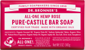 Dr. Bronner Rose Bar Soap Eko 140g