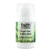 Faith in Nature Aloe Vera & Grönt Te Deo 50 ml