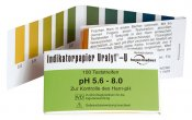 pH-papper, pH-indikatorpapper 100 remsor