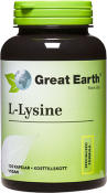 Great Earth L-Lysine 500 mg 120 kapslar