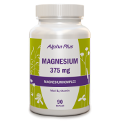 Alpha Plus Magnesium 375 mg 90 kapslar