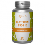 Alpha Plus D3-Vitamin 2500 IE 90 tabletter