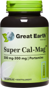 Great Earth Super Cal-Mag 300-300 mg 120 Kapslar