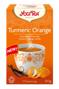 YogiTea Turmeric Orange Eko 17p