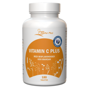Alpha Plus Vitamin C Plus 180 tabletter