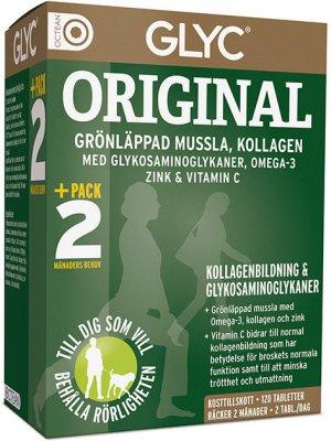glyc grönläppad mussla