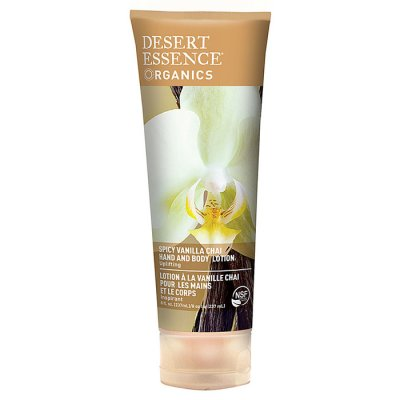 Desert Essence Spicy Vanilla Chai Hand and Body Lotion 237 ml