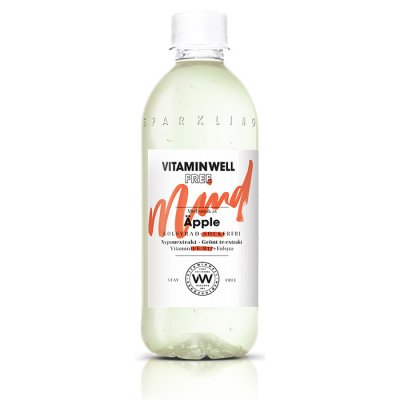 Vitamin Well FREE Mind  Äpple 450ml Sockerfri