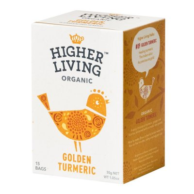 Higher Living Organic Golden Turmeric 15p