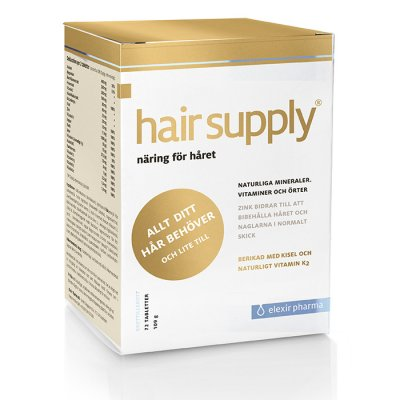 Elexir Pharma Hair Supply 72 tabletter