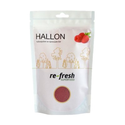 Re-fresh Hallonpulver 125 g