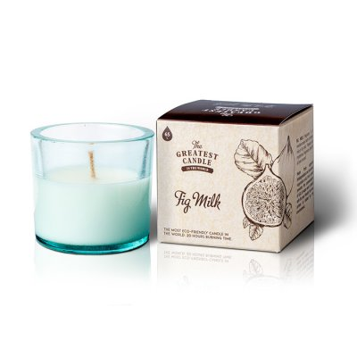 The Greatest Candle Återvunnet ljus Fig Milk 75g