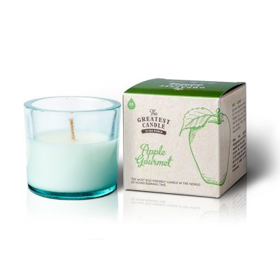 The Greatest Candle Återvunnet ljus Apple Gourmet 75g